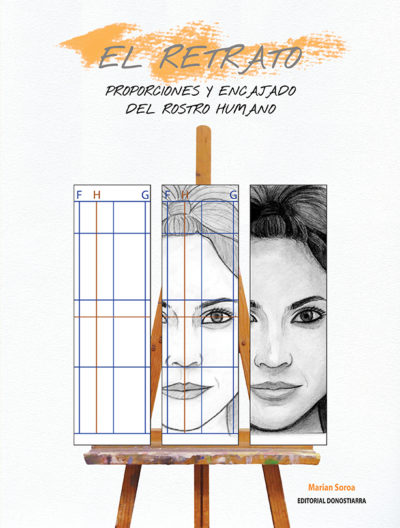 (2015) - EL RETRATO. PROPORCIONES Y ENCAJADO DEL ROSTRO HUMANO
