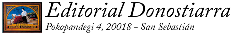 Logo editorial donostiarra